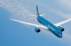 Máy bay Vietnam Airlines hạ cánh khẩn để cấp cứu 2 hành khách