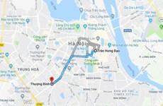 Dự trù chi phí tuyến đường sắt đô thị Hà Nội số 2 giảm 5.800 tỷ đồng