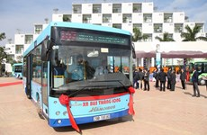 Hà Nội mở thêm tuyến buýt mới 'phủ sóng' khu công nghệ cao Hòa Lạc