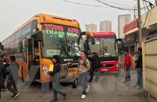 Cận Tết Mậu Tuất: Bến xe vắng lặng, thưa thớt người dân về quê