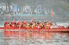 Hà Nội: Độc đáo với lễ hội bơi chải thuyền rồng đầu tiên tại Hồ Tây
