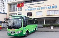 Hà Nội thay thế hàng loạt xe buýt mới tiêu chuẩn chất lượng cao