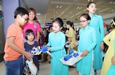 Hành trình Vietnam Airlines đến với những cuộc đời kém may mắn