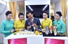 Vietnam Airlines chuẩn bị đưa 11 loại cocktail mới trên chuyến bay
