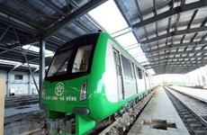 Chạy thử tuyến đường sắt đô thị Cát Linh-Hà Đông vào tháng Tám