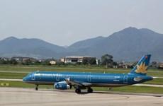 Máy bay hạ cánh lệch vị trí tại sân bay Nội Bài do thời tiết xấu