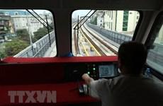 Sắp vận hành, chạy thử tuyến đường sắt đô thị Cát Linh-Hà Đông