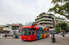 Hà Nội chính thức chạy tuyến buýt 2 tầng mui trần vào buổi tối