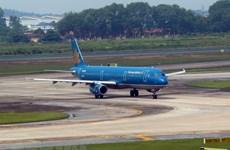 Chuyên cơ chở Olympic Việt Nam đã hạ cánh xuống sân bay Nội Bài