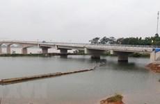 Cầu Việt Trì-Ba Vì bắc qua sông Hồng sẽ thông xe vào ngày 7/10