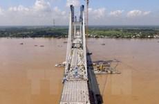 Nứt dầm cầu Vàm Cống sẽ được khắc phục xong vào cuối năm 2018