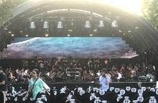 Trải nghiệm lạ với 'kỳ tích' nhạc giao hưởng trong không gian Hồ Gươm