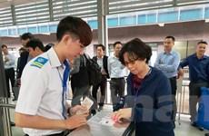 Hà Nội: Hành khách dùng vé điện tử đầu tiên trên tuyến buýt nhanh BRT
