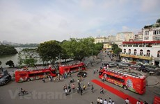 Buýt 2 tầng mui trần trung bình 7 khách/lượt, Sở GTVT Hà Nội nói gì?