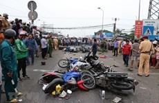Trích xuất tốc độ của xe container khi gây tai nạn thảm khốc ở Long An