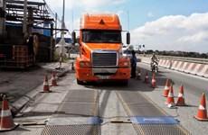 Xe chở hàng quá tải lại 'lộng hành' ở nhiều tuyến đường Quốc lộ
