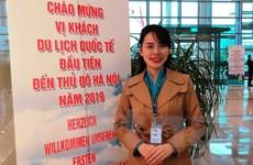 Nữ nhân viên hàng không Vietnam Airlines có bốn năm đón Tết ở sân bay