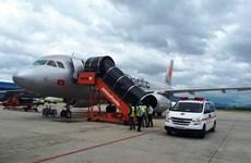 Máy bay Jetstar quay đầu cấp cứu một nữ hành khách lên cơn khó thở