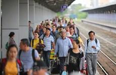 Đường sắt tăng hàng chục đoàn tàu chạy trong dịp nghỉ lễ Giỗ Tổ