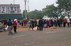 Vĩnh Phúc: Xe khách đâm vào đoàn người đưa tang, 7 người tử vong