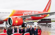 Vietjet Air nhận thêm tàu bay Airbus A321neo thế hệ mới