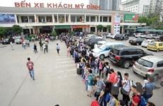 Hà Nội ngăn chặn đầu cơ, tăng giá xe khách trái phép dịp nghỉ 30/4
