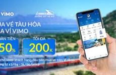 Hành khách chỉ cần 2 phút để đặt, thanh toán vé tàu bằng ví điện tử