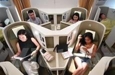 Hành khách thích thú với trải nghiệm trên máy bay lớn nhất Việt Nam