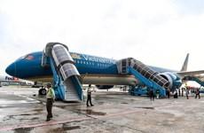 Các chuyến bay Vietnam Airlines đi Hàn Quốc khởi hành sớm do bão Tapah