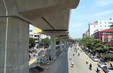 Phân luồng giao thông để lắp thang máy ga đường sắt Nhổn-ga Hà Nội