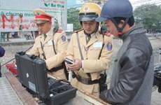 Cảnh sát giao thông xử lý hơn 78.000 lái xe vi phạm nồng độ cồn