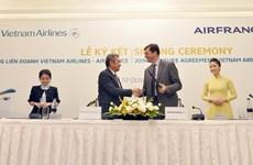 Liên doanh Vietnam Airlines và Air France đạt hơn nửa triệu lượt khách