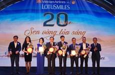 Vietnam Airlines có 3 triệu hội viên Bông Sen Vàng sau 20 năm