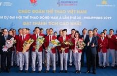 Vietnam Airlines tổ chức chuyến bay riêng đưa đoàn TTVN dự SEA Games