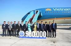 Ngành hàng không Việt Nam đón chuyến bay điều hành thứ 900.000