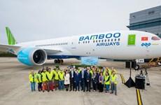 Máy bay Boeing 787-9 đầu tiên về với đội bay của Bamboo Airways