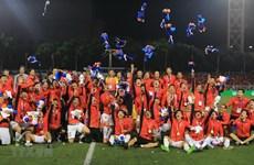 Tặng vé bay miễn phí 1 năm đội tuyển bóng đá vô địch SEA Games 30