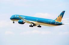 ''Siêu máy bay'' Boeing 787-10 đón Đoàn thể thao Việt Nam trở về