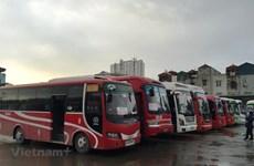 Hà Nội tăng cường thêm 2.200 xe khách dịp cao điểm nghỉ Tết