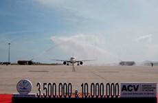 Cảng Hàng không Quốc tế Cam Ranh đón hành khách thứ 10 triệu