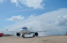 Bamboo Airways khai thác chuyến bay quốc tế đầu tiên đến Quy Nhơn
