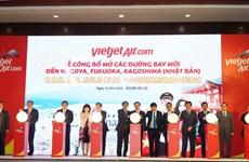 Hàng không Vietjet mở thêm 5 đường bay mới tới ''xứ sở mặt trời mọc''