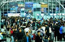 Sân bay Nội Bài khuyến cáo khách đến sớm làm thủ tục trong dịp Tết