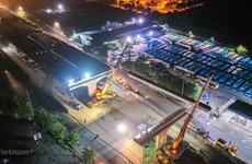 Lùi tiến độ hoàn thành dự án cầu cạn đoạn Mai Dịch-Nam Thăng Long