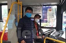 Lái, phụ xe phải trang bị khẩu trang phòng chống virus corona mới