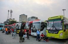 Bến xe Hà Nội miễn phí dịch vụ cho nhà xe do ảnh hưởng của COVID-19
