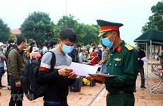 Hà Nội chuẩn bị phương tiện đưa người hết hạn cách ly về địa phương