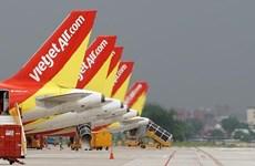 Vietjet Air tăng tần suất bay chặng Hà Nội-Thành phố Hồ Chí Minh