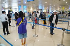 Gần 200 chuyến bay qua sân bay Nội Bài sau 2 ngày giãn cách xã hội