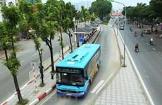 Hành khách mua vé tháng xe buýt không phải thanh toán tiền mặt